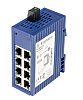 Hirschmann Unmanaged Ethernet Switch, 8 RJ45 port DIN