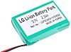 LG 3.7V Wire Lead Terminal Lithium Rechargeable Battery,