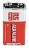 RS PRO Alkaline 9V Batteries PP3