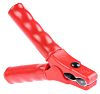 Schutzinger Crocodile Clip, 32A, Red