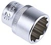 RS PRO 23mm Bi-Hex Socket With 1/2 in