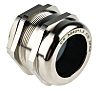 RS PRO M40 Cable Gland With Locknut, Nickel Plated Brass, IP68
