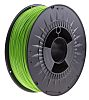 RS PRO 1.75mm Green PLA 3D Printer Filament,