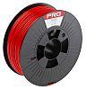 RS PRO 2.85mm Red PLA 3D Printer Filament, 1kg