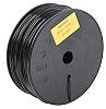 RS PRO 1.75mm Black Nylon PA12 3D Printer Filament, 300g