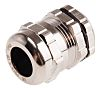 RS PRO PG13.5 Cable Gland With Locknut, Brass,