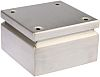 RS PRO Junction Box, IP66, 150mm x 150mm x 80mm