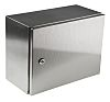 RS PRO 304 Stainless Steel Wall Box, IP66, 400mm x 300 mm x 200 mm