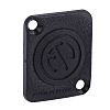 Neutrik, D Dummy Plate for use with Cover