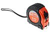 RS PRO 8m Tape Measure, Imperial, Metric, With RS Calibration