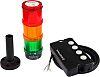 Werma LED Andon Light Kit, 4, 3 Supplied,