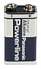 Panasonic Industrial Powerline Panasonic Alkaline 9V Batteries
