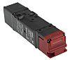Omron D4SL-N4AFA mágnestekercses reteszelő kapcsoló, Különböző opciók, M20, 24 V DC, Fém burkolat, IP67, 39 x 179,5 x