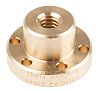 RS PRO Flanged Round Nut For Lead Screw,
