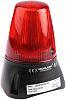 Moflash LEDA100 Buzzer Beacon 80dB, Red LED, 20
