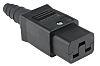 Bulgin C19 Cable Mount IEC Connector Socket, 16A,