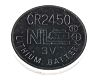 RS PRO CR2450 Button Battery, 3V, 24.5mm Diameter