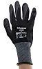 RS PRO Black Nitrile Coated Nylon Work Gloves, Size 10, 12 Gloves