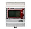 Elektroměr LCD 4číslicový 3fázový s impulzovým výstupem, přesnost měřicího přístroje: 1 % RS PRO