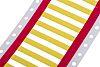 RS PRO Kabelmarkierung, Gelb, 3,2 mm, Ø 2.7mm, 250 Stück