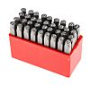 RS PRO 36 Piece Engraving Letter Punch Set,