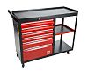 RS PRO 6 drawer Steel WheeledTool Chest, 450mm x 980mm x 1090mm