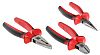 RS PRO Steel Pliers Plier Set, 200 mm Overall Length