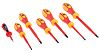 RS PRO VDE Pozidriv, Slotted Screwdriver Set 7