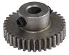 RS PRO Steel 35 Teeth Spur Gear, 17.5mm