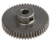 RS PRO Steel 50 Teeth Spur Gear, 25mm