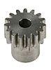 RS PRO Steel 15 Teeth Spur Gear, 12mm