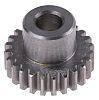 RS PRO Steel 24 Teeth Spur Gear, 19.2mm