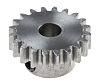 RS PRO Steel 20 Teeth Spur Gear, 20mm