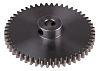 RS PRO Steel 50 Teeth Spur Gear, 50mm