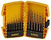 DeWALT 13 piece Multi-Material Twist Drill Bit Set,
