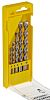 DeWALT 5 piece Masonry Twist Drill Bit Set,
