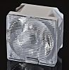 LEDiL CA13307_LAURA-O-WAS-PIN, Laura Series LED Lens, Square Beam
