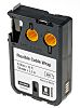 DYMO XTL Adhesive Cable Marker Black, White