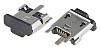 Molex USB Connector, SMT, Socket B, Solder, Straight