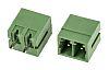 RS PRO, 2 Way, 1 Row, Straight PCB Terminal Block Header