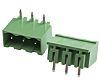 RS Pro, 3 Way PCB Terminal Block