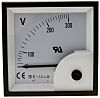 RS PRO Analogue Voltmeter AC ±1.5 %, 68 x 68 mm