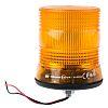 RS PRO Amber LED Beacon, 10 → 30 V dc, Flashing, Single Point