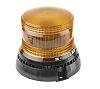 RS PRO Amber LED Beacon, 10 → 30 V dc, Flashing, Surface Mount, Wall Mount