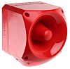 Klaxon Nexus 110 Sounder Beacon 116dB, Red LED, 24 → 48 V ac, IP66