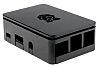 Caja DesignSpark de ABS Negro para Raspberry Pi 3B y anteriores