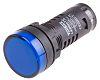 RS PRO, Panel Mount Blue LED Pilot Light