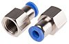 RS PRO Threaded-to-Tube Pneumatic Fitting R 1/4 to