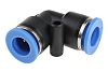 RS PRO Pneumatic Elbow Tube-to-Tube Adapter Push In