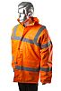 RS PRO Orange Men Hi Vis Jacket, XXL